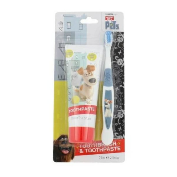 Set The Secret Life Of Pets Duo Kit - Periuta si Pasta de dinti 75ml